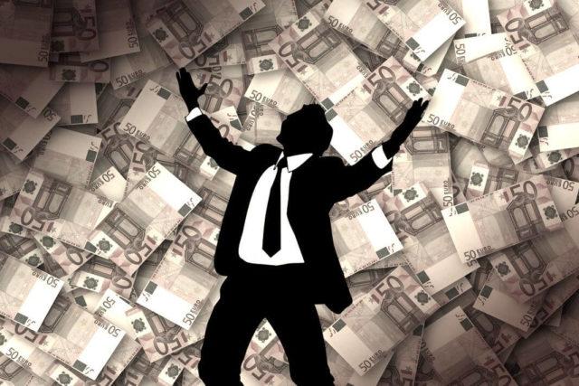 novac sreća veza
