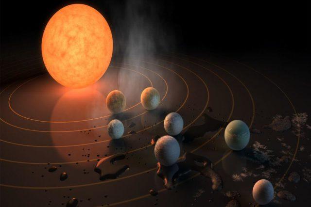 otkriveno sedam planeta