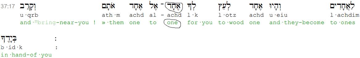 Ezekiel 37,17