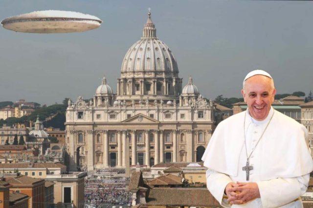 Vatikan NLO vanzemaljci