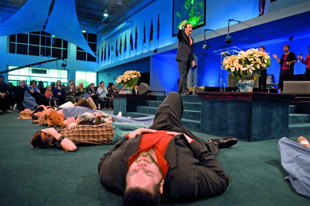 počivanje u Duhu