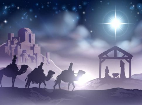 Krist rođenje Božić