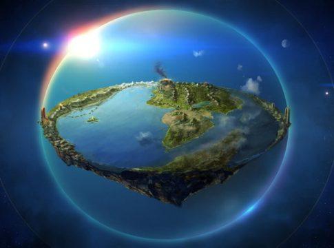 ravnozemljaš zemlja ravna
