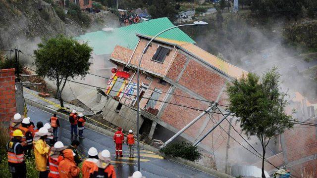 Bolivija klizište