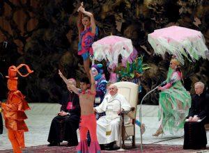 papin cirkus Vatikan