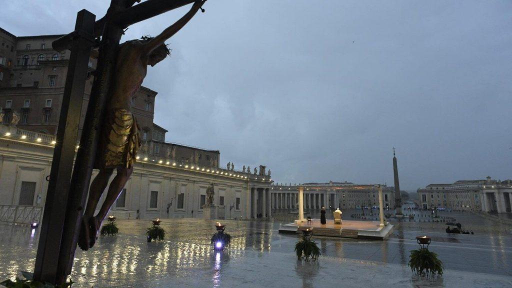 čudotvorni križ Vatikan