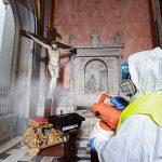 dezinfekcija crkva