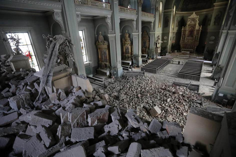 Potres U Zagrebu Bez Krista Nigdje Niste Sigurni Biblija I Znanost