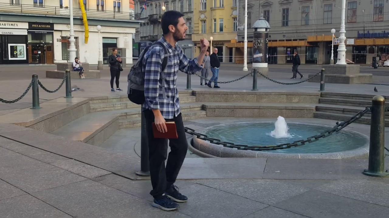 karantena Zagreb evangelizacija
