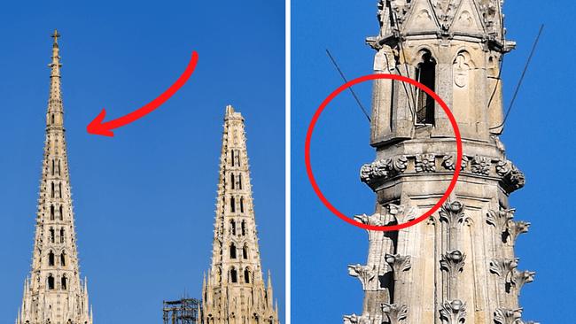 rušenje tornja katedrale Bandić