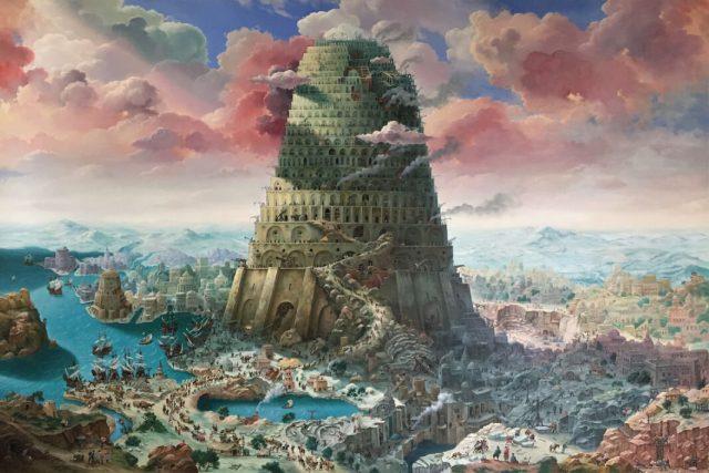 Babilonska kula Babilon