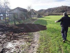 Potresi rupe u zemlji klizišta