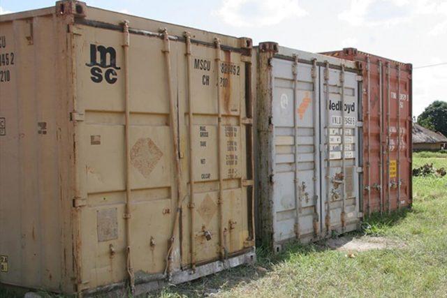 Eritreja zatvor kontejneri