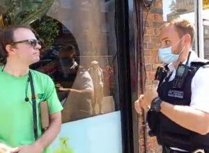 propovjednik uhićen Engleska London